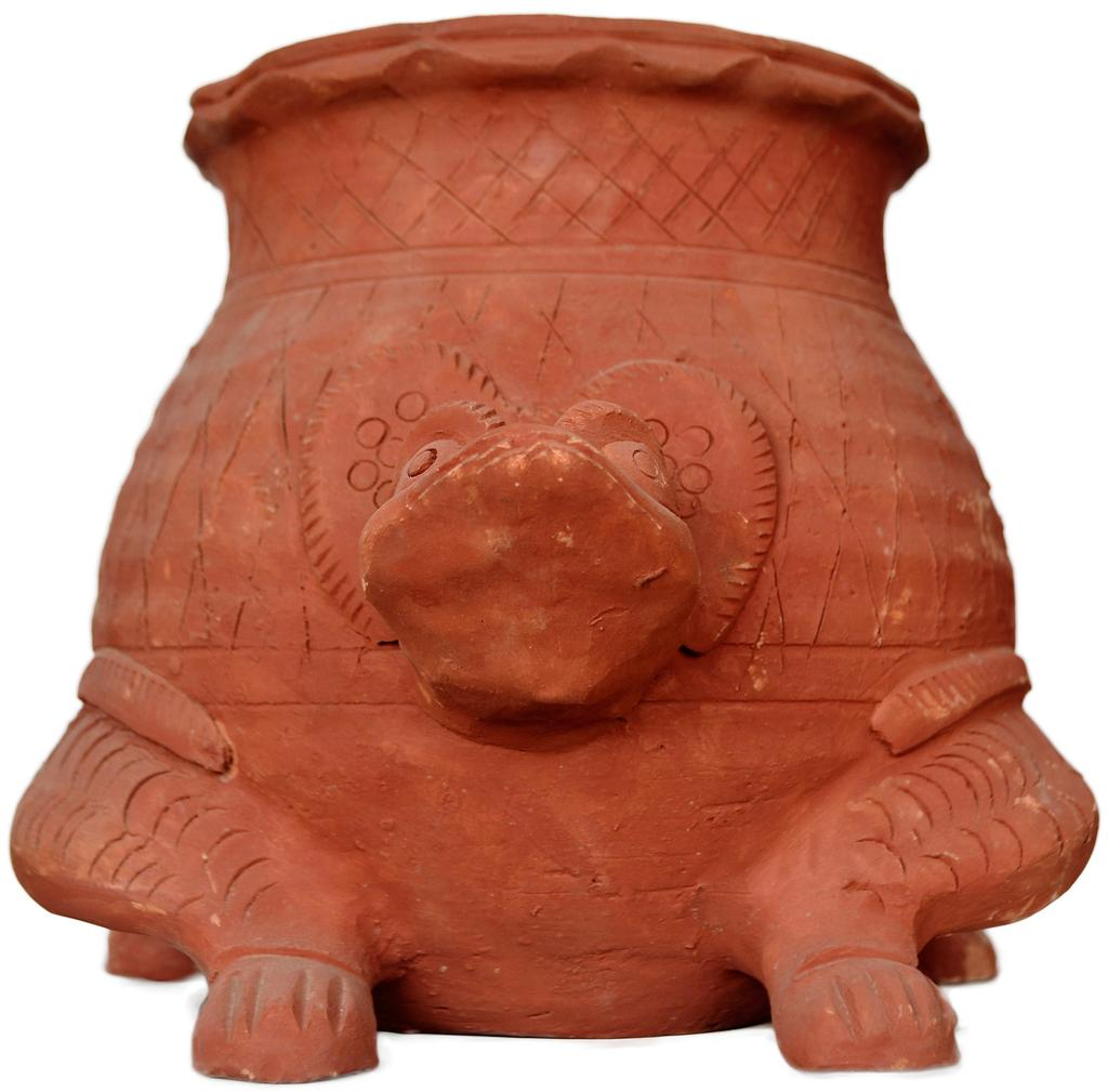 Tortoise Shaped Flower Pot- Molela Terracotta