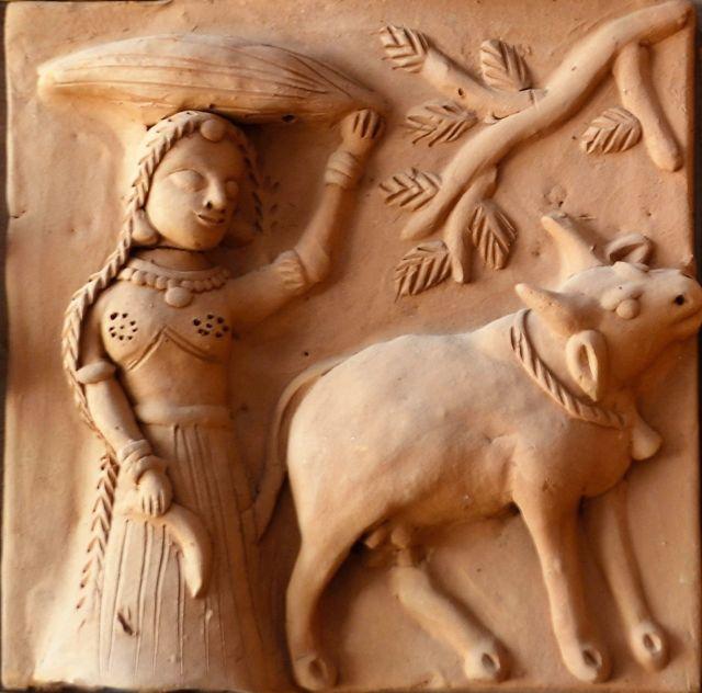 Molela Terracotta Plaques