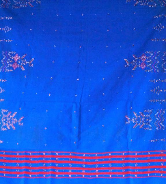 Tangaliya Blue Shawl