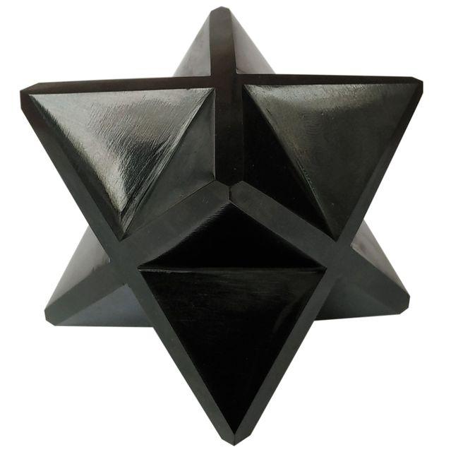 Agates (Akik) of Cambay-Star-Black Onyx