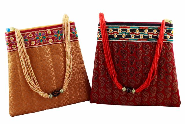 Embroidered Handcrafted Cross Bag-VIVEKA