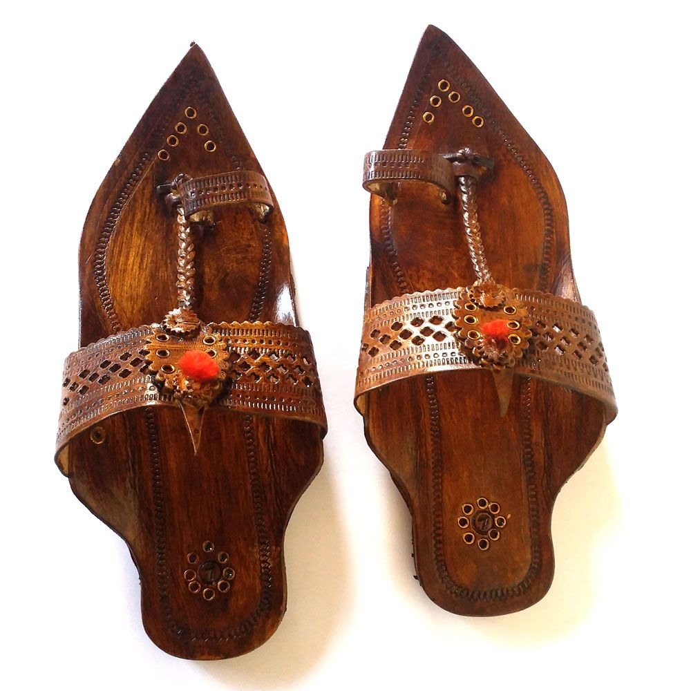Kancha Kolhapuri Men brown sandal
