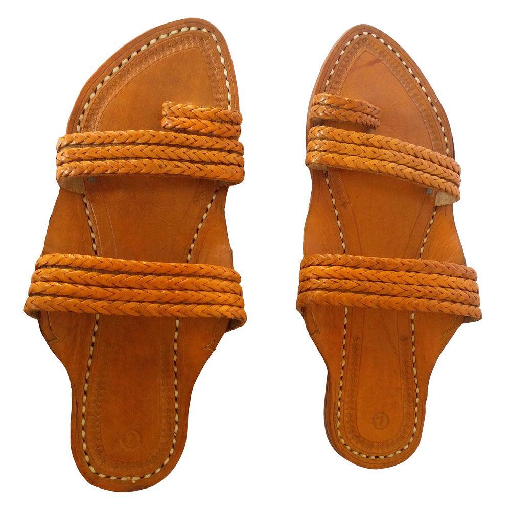 Men Brown Sandal- Madi
