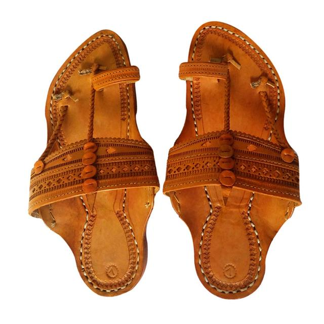 Kolhapuri kapshi Men brown sandal