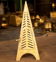 Hand Crafted Brass Tower Lamp
