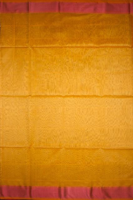 Maheshwari Handwoven Cotton-Silk Saree with Resham Border Small