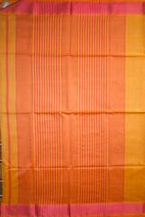 Maheshwari Handwoven Cotton-Silk Saree with Resham Border Small