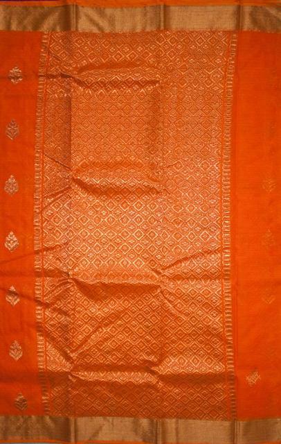 Authentic Kota Doria Pure Zari Work Cotton-Silk Saree, IHB Certified with GI tag