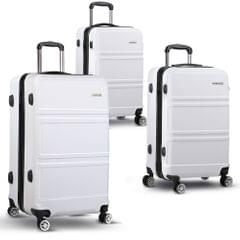 "3pc Luggage Set 20, 24 and 28""- White"
