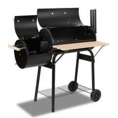 2-in-1 Offset BBQ Smoker