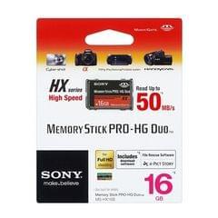 Sony Memory Stick Pro-HG Duo HX Rev.B 16GB 50M/s