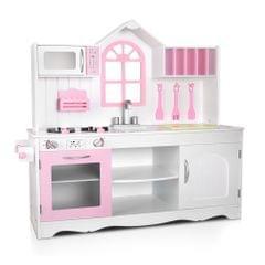 Wooden Kitchen Playset - White