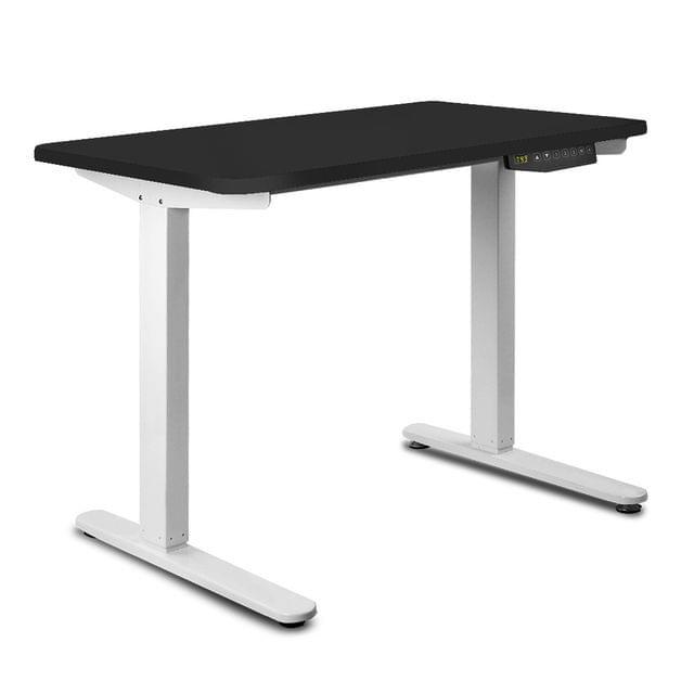 100CM Motorised Height Adjustable Sit Stand Desk Black