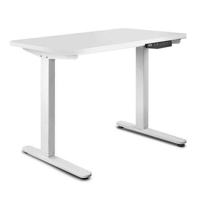 100CM Motorised Height Adjustable Sit Stand Desk White