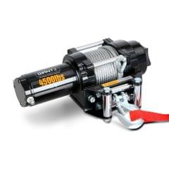 4500LBS Electric Winch ATV 4WD Steel Wire w/ Remote