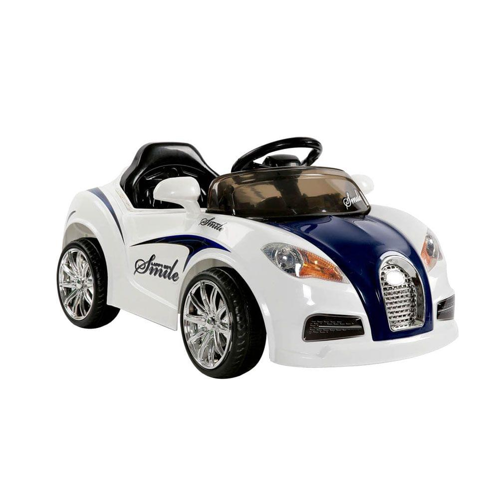 Kids Ride On Car Blue and White