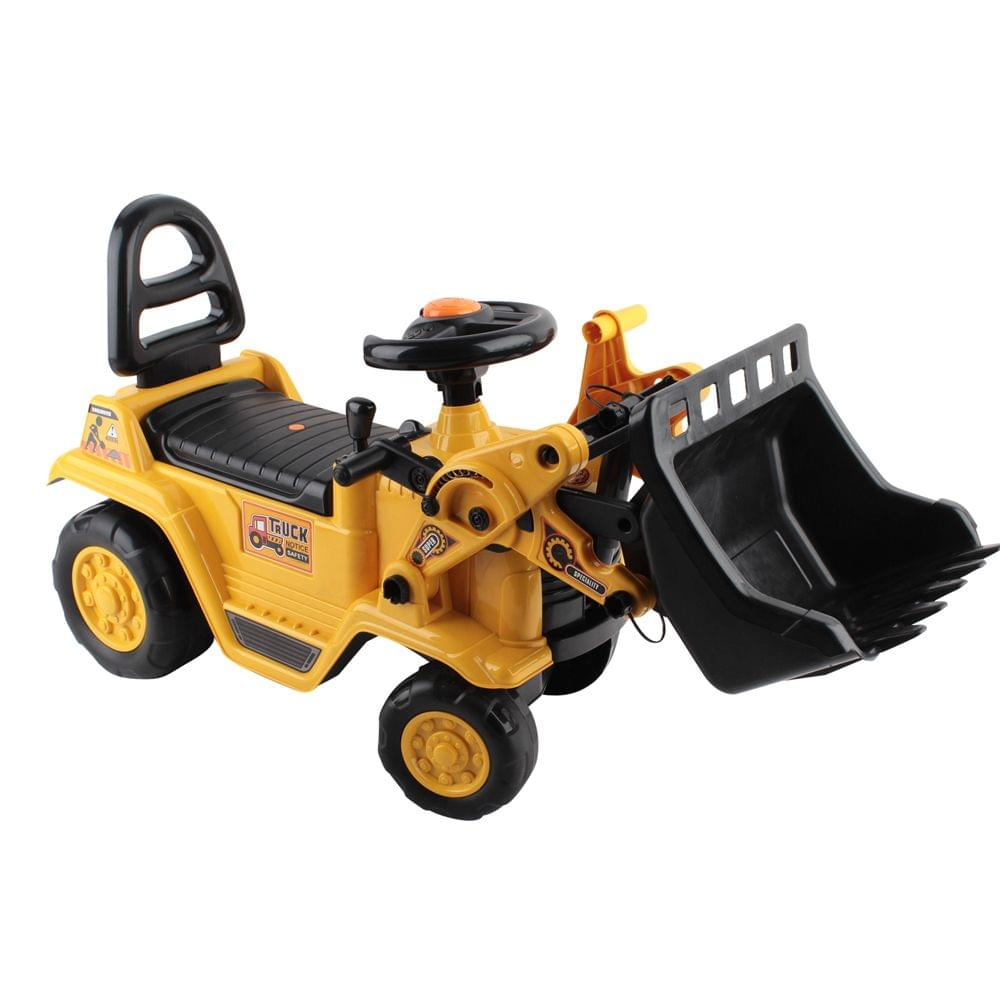 Kids Ride On Bulldozer Yellow