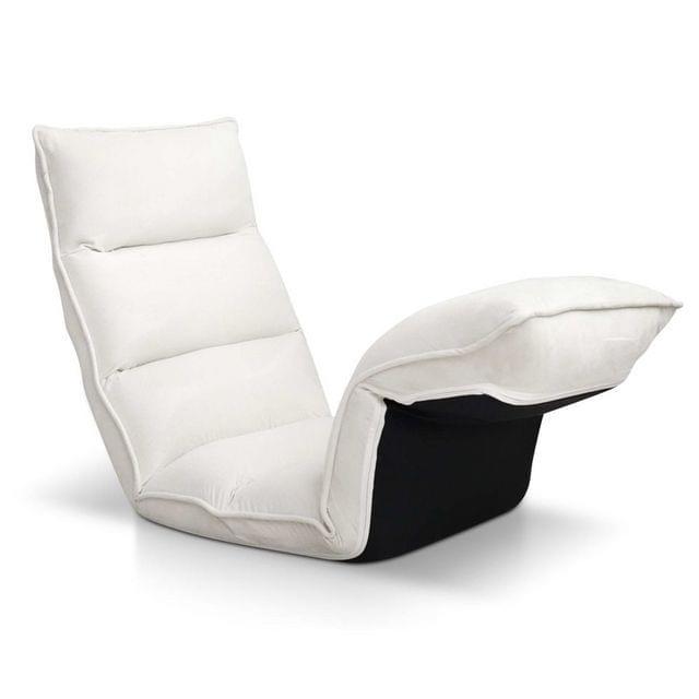 Lounge Sofa Chair - 375 Adjustable Angles-Ivory