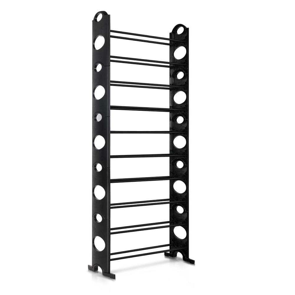 10 Tiers Stackable Shoe Storage Rack-155CM