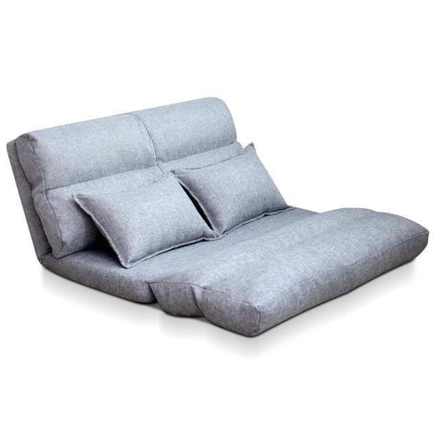 Adjustable Lounge Sofa - 5 positions Grey