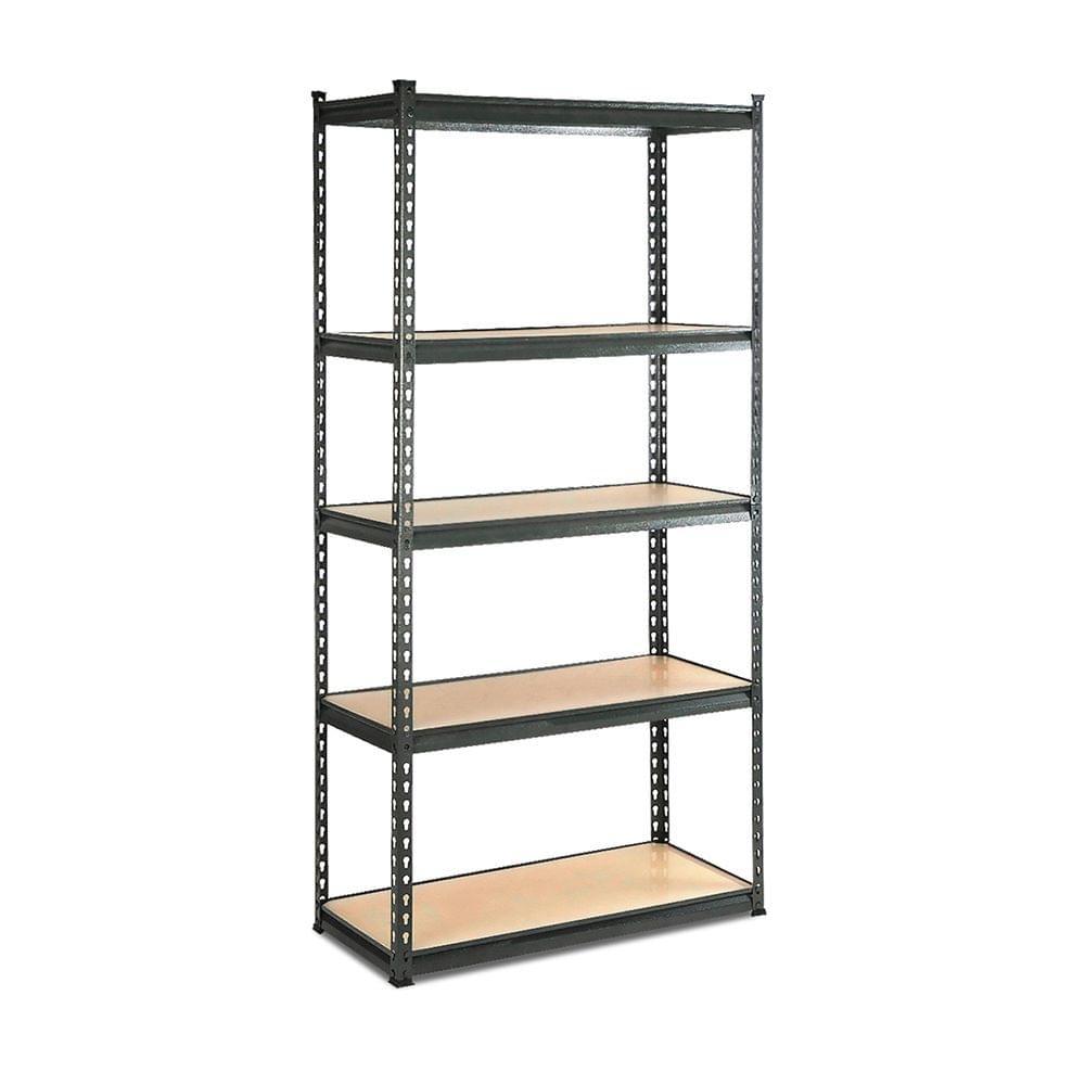 5-Tier Shelving Unit Warehouse Rack Storage Racking Garage Shelf - Chacoal
