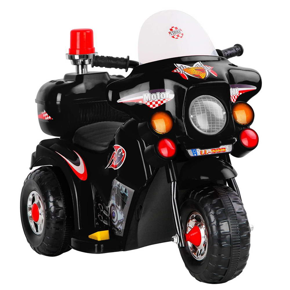 Kids Ride on Motorbike-Black