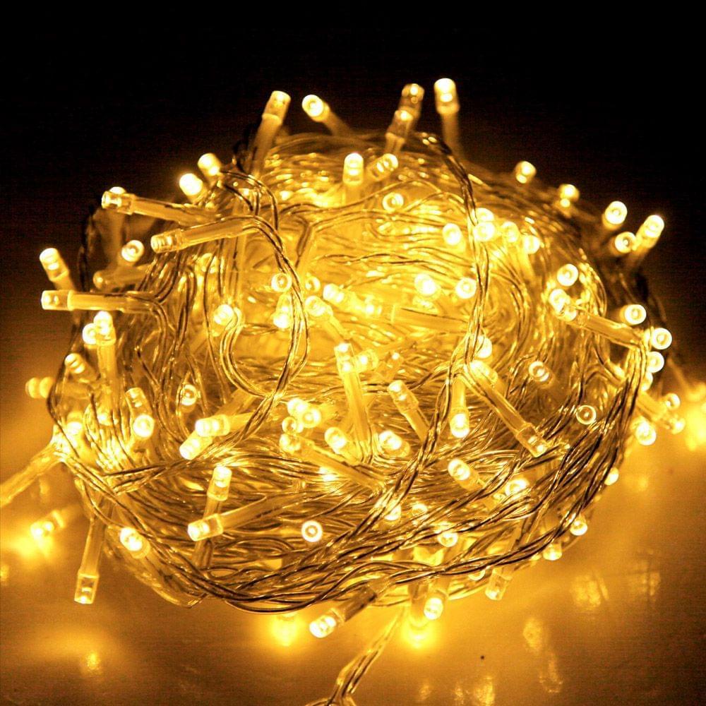 Christmas LED String Lights - Warm Yellow
