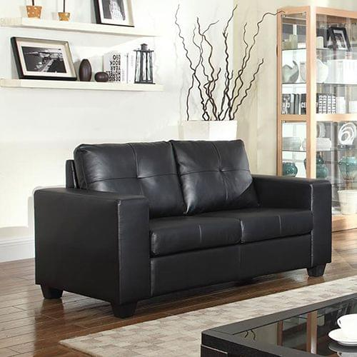 Nikki Sofa Black 2 Seater