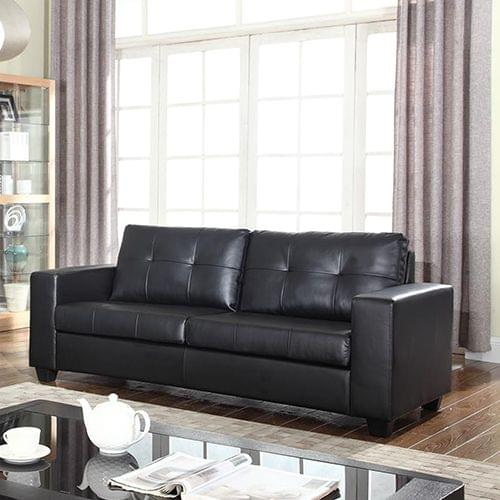 Nikki Sofa Black 3 Seater