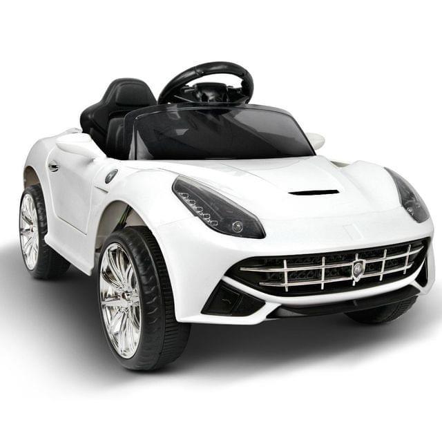 Kids Ride on Sport Car White