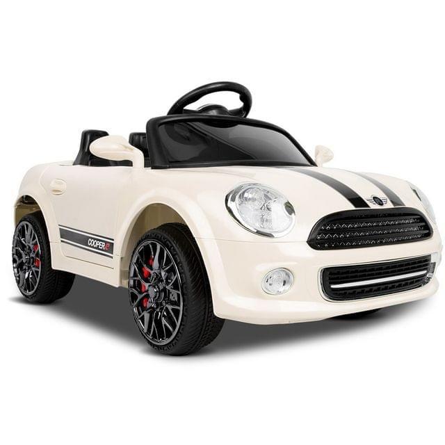 Mini Cooper Inspired Kids Ride On Car