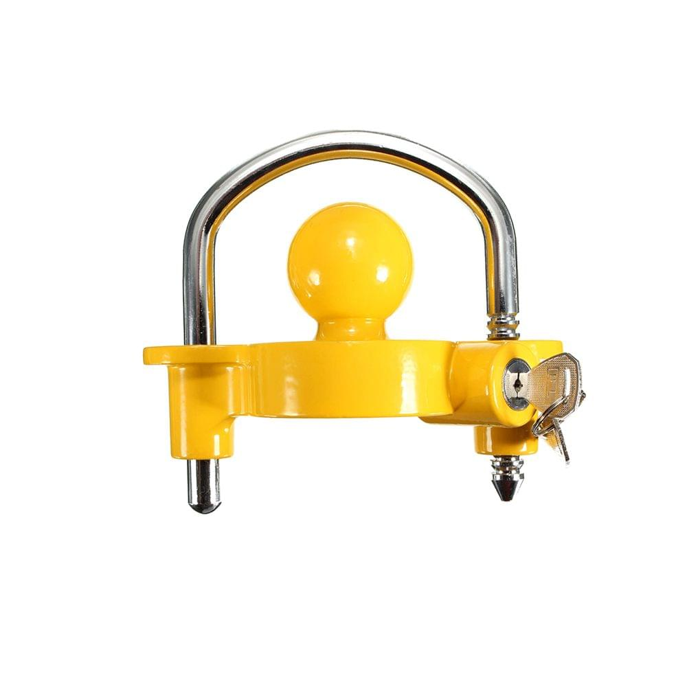Trailer Coupling Hitch Lock Universal Tow Ball Caravan Camping Anti Theft