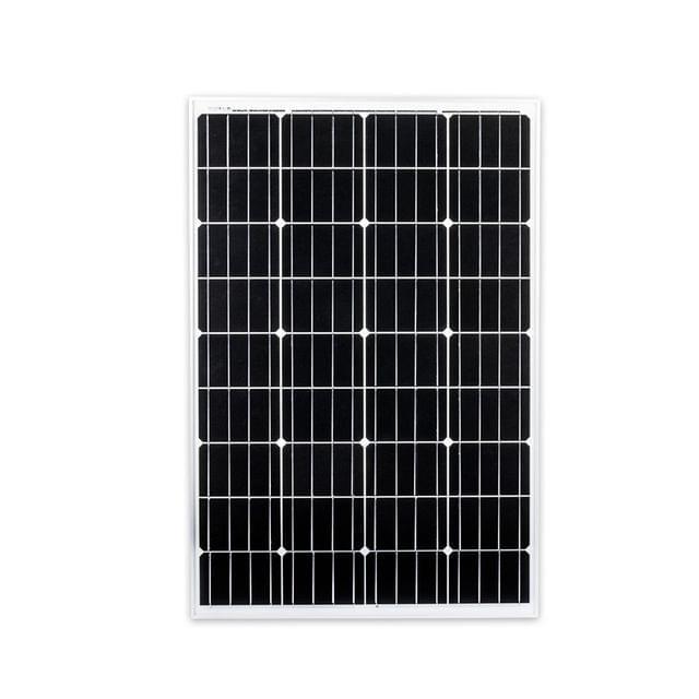 130W 12V Solar Panel Kit Mono Power Generator Caravan Camping Battery Charging
