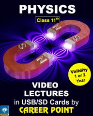 Video Lectures on Physics for Class 11th (1 Year)+ Physics formula book (2018)  for JEE (Main/Advance)/AIPMT