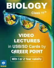 Video Lectures on Biology for Class 11 (2018)  + Biology formula book for AIPMT/NEET