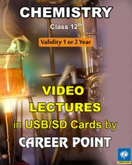 Video lecture on Chemistry for Class 12 (2 Years)+ Hand book of formula PCM (JEE Main/Advance/AIPMT) (2019)