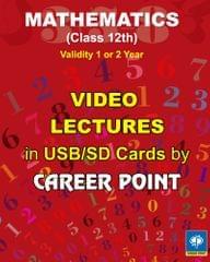 Video Lectures Maths for Class-12 (2 Years)+ Formula book of PCM for JEE (Main/Advance) (2019)