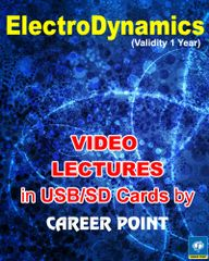 Video Lectures Electrodynamics  + Physics formula book JEEMain/ Advanced & NEET/ AIPMT (2018)