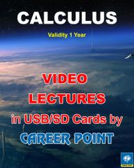 Video Lectures of Calculus + Maths formula book JEE (Main/Advance) (2018)