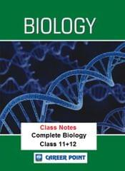 Class Notes Of Complete Biology (Set Of 6 Volumes) AIPMT/NEET
