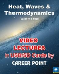 Video Lectures (Heat and Thermodynamics & Waves)  + Physics formula book (PHYSICS (2018) for IIT JEE Main/Advanced/AIPMT)