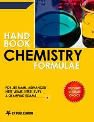 Handbook of Chemistry Formulae for JEE  & NEET/ Chemistry Formula Book for JEE Main/ Advanced /AIPMT