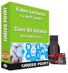 Video Lectures of Complete PCB (1 year) for Class 12th