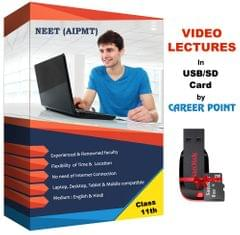Video Lectures of Complete PCB (2 years) for Class 11th