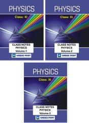 Physics Class Notes (Class 11th) for JEE/NEET Set of 3 Books