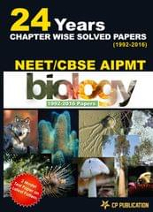 NEET-AIPMT Biology 24 Years Chapterwise Solved Papers (1992-2016) By Career Point Kota