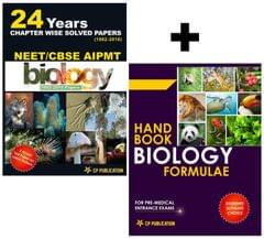 NEET-AIPMT Biology 24 Years Chapterwise Solved Papers (1992-2016) With Biology Formulae Handbook