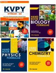 KVPY (Stream-SX) - Unit wise Old Examination Solved Paper (2010 to 2016) with 3 practice Papers + PCB Formuale (Set of 3 Books)