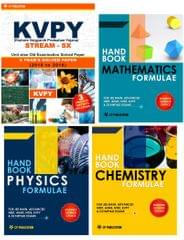 KVPY (Stream-SX) - Unit wise Old Examination Solved Paper (2010 to 2016) with 3 practice Papers + PCM Formuale (Set of 3 Books)