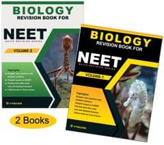 Biology Revision Book for NEEET (Vol-1 & Vol-2) By Career Point